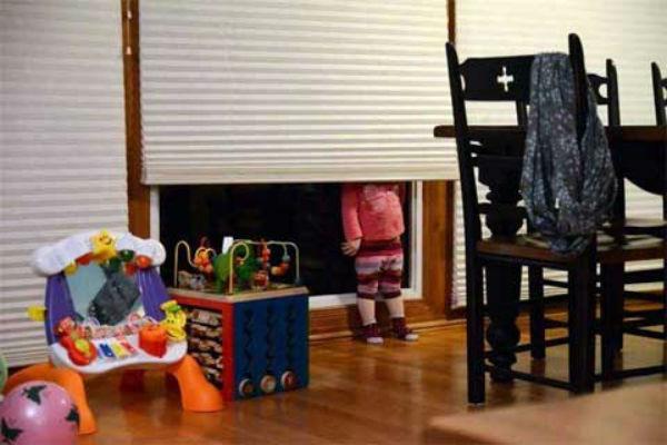 Как прячутся маленькие дети