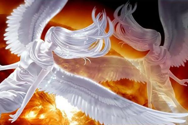 Обнаружены ангелы у Солнца