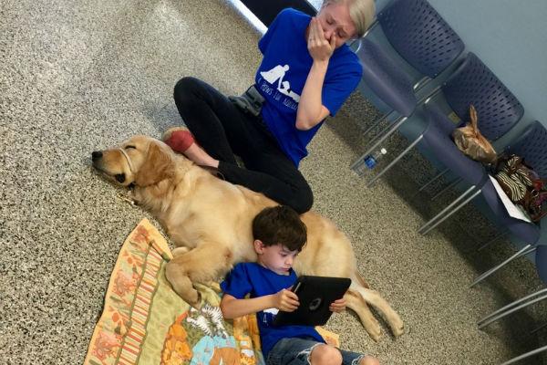 Собака для детей-аутистов