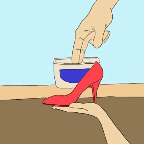 Обувь лак