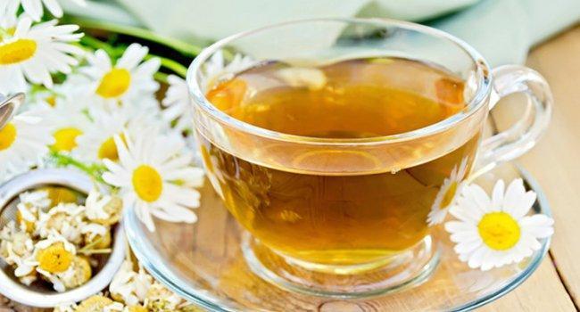 Ромашковый чай поможет расслабиться